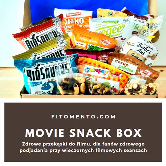 Zdrowe przekąski, zdrowe słodycze, fit dietetyczne słodycze do filmu, słone przekąski
